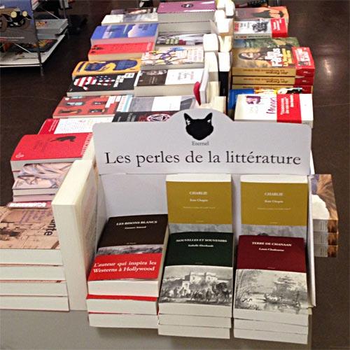 Les Éditions Éternel en librairie, découverte de ses ouvrages.